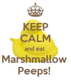 Keep Calm Peeps!