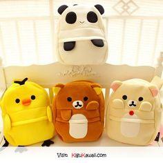 Adorable Bags (。♥‿♥。) Follow Kigu Kawaii for more cute stuff! #kigukawaii #cute…