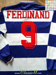 1994 95 QPR Home Football Shirt Ferdinand  9 (L). Les FerdinandQueens Park  RangersVintage ... 1c9003857