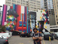 Quem disse que grafite é vandalismo? Esta ideia vem mudando ao longo dos tempos, e muito por influência de alguns artistas como Os Gêmeos e Eduardo Kobra, que têm desenvolvido trabalho incríveis tanto