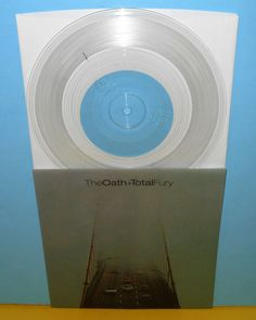 """The OATH / TOTAL FURY split 7"""" Record CLEAR. If you want to customize a good-looking vinyl record and vinyl packaging, visit www.unifiedmanufacturing.com. #vinylrecords #vinylrecordart #vinylart #vinylsleeve #vinylrecord #vinylpackaging Vinyl Record Art, Vinyl Art, Vinyl Records, Vinyl Sleeves, How To Look Better, Furniture Design, Punk, Packaging, Black"""