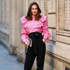 Blusas y chaquetas con efecto cintura de avispa