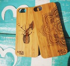 Run the eco friendly option with Arca Apparels Bamboo Iphone cases. Check out the new Pineapple Apple and Mandala case.  @ArcaApparel