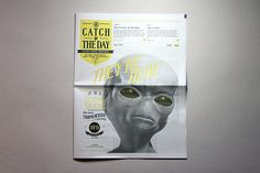 Catch of the day by Thomas Wong, via Behance