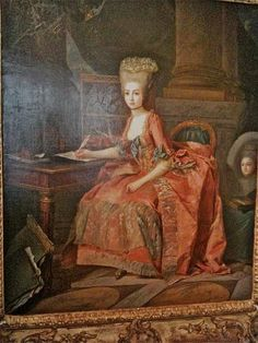 Princesse Marie-Thérèse de Savoie, Comtesse d'Artois; d'après Louis Perrin-Salbreux.