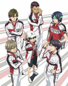 New prince of tennis main players