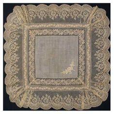 Antique lace hankies