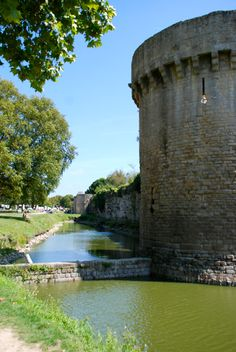 Guerande, Loire-Atlantique, Brittany French Castles, Brittany France, Sacred Architecture, France Travel, Coin, Roots, Destinations, Geek, Memories