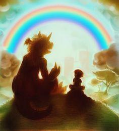 Tamers 018. Rainbow by ~ovibos on deviantART