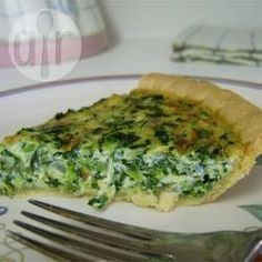 Spinat Quiche mit Mozzarella @ de.allrecipes.com