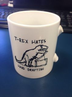 Because everyone knows clever mugs make your coffee taste even better. Contains some very NSFW crockery.
