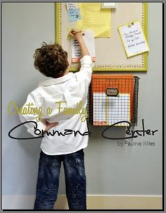 Isabella & Max Rooms: How To Make The DIY Message Board {As Seen on Page 66 in HOF}