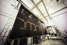 http://www.esa.int/spaceinimages/Images/2016/01/SmallGEO_AG1_solar_panel_deployed_for_testing_at_IABG4