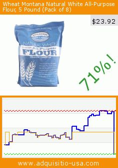 Wheat Montana Natural White All-Purpose Flour, 5 Pound (Pack of 8) (Grocery). Drop 71%! Current price $23.92, the previous price was $82.13. https://www.adquisitio-usa.com/wheat-montana/natural-white-all-purpose