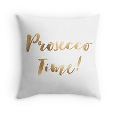 Cushion Cover - Prosecco Time! - pop over to the designer's own shop at www.finnishtouches.com
