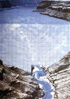 SuperStudio | Monumento Contínuo [Continuous Monument on the Colorado Canyon] | 1969