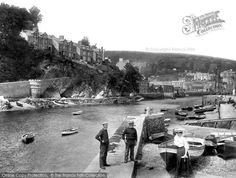 Looe, The Pier 1906, from Francis Frith
