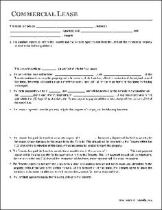Rental Agreement Form Free Printable  Free Word Templates