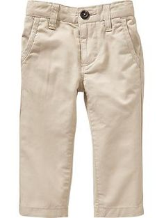 Skinny Pop-Color Khakis for Baby