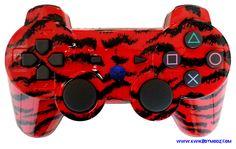 KwikBoy Modz - Red Tiger Camo DualShock 3 PS3 Controller, $79.99 (http://www.kwikboymodz.com/red-tiger-camo-dualshock-3-ps3-controller/)
