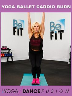 Yoga Ballet Cardio Burn Workout Yoga Dance Fusion Sydney Benner ** Click on the image for additional details.  This link participates in Amazon Service LLC Associates Program, a program designed to let participant earn advertising fees by advertising and linking to Amazon.com.
