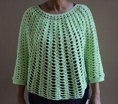 Crochet Cuff Poncho Pattern Crochet Poncho with Cuff Pattern
