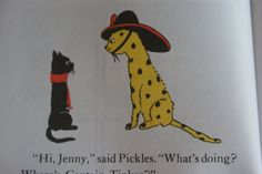Pickles the Fire Cat and Jenny Linsky (Esther Averill)