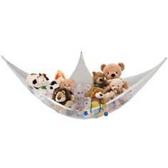 Keep your kid's room tidy and all stuffed animals accounted for with the Dreambaby Jumbo Toy Storage Hammock . This ingenious toy hammock has a huge. Angles, Toy Hammock, Delta Children, Corner Wall, Neat And Tidy, Toy Organization, Corner Designs, Storage Bins, Toy Boxes