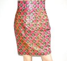 African Skirt, African Ankara Bias Cut Pencil Skirt, African Fabric Pencil Skirt, Handmade pencil Skirt, Ankara Fabric Skirt By ZabbaDesigns