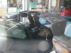 VOLTEX スワンネックGTウィング装着♪ | 日記&デモカー日誌 | コクピット 川越 | 車のカスタマイズにかかわるスタッフより