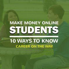 10 Ways Student Can Make Money Online