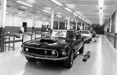 """JOB #1"" The First 'Boss 9' ~~ 1969 Mustang Boss 429 Pictures - 1969 Mustang Boss 429 Photos - Mustang Picture Gallery - AllFordMustangs.com"