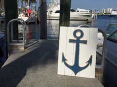 A personal favorite from my Etsy shop https://www.etsy.com/listing/384781342/handmade-anchor-with-rope-beach-pallet