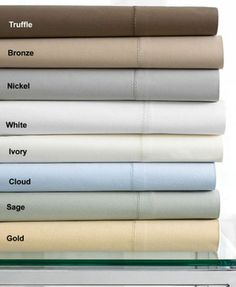 hotel collection 600tc solid queen fitted sheet white 135 c