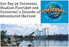 Our Day at Universal Studios Florida® and Universal's Islands of Adventure® {Review} #UniversalORL #UniversalMoments