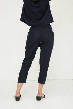M/&S Da Viaggio Jeans Indigo Stretch Slim Fit Nuovo