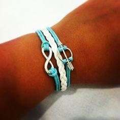 Pi Phi arrow forever bracelet #piphi #pibetaphi