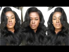 """Make Your Lace Frontal/Wig Look Natural(No Sew, No Glue, No Hair Out) Aliexpress """"Amazing hair"""" - YouTube"""