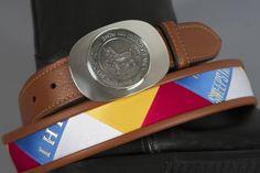 Belt company - to finish a needlepoint belt for me