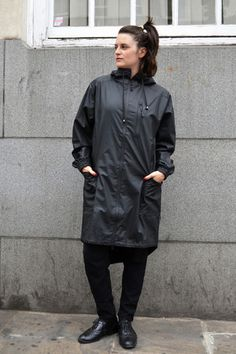 Rains Long Wax Yellow Jacket