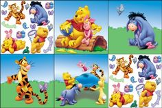 $12.99-$20.99 Baby Blue Mountain Wallcoverings 31420610 Pooh Scenic Self-Stick Decorating Kit - 31420610  Features: -Self stick decorating kit.-Age range: 3 - 11 years.-Use on walls, mirrors or any smooth surface.-Removable wall art and won't harm walls.-Coordinates with other Disney d cor products.-Quick and easy application.-Just peel and place.-Fun and fashionable alternative to posters and a ...