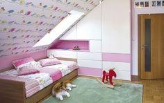 Girl Room, Baby Room, Attic Rooms, Playroom Decor, Modern Decor, Toddler Bed, Sweet Home, Nursery, Interior Design