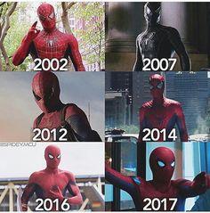 Spider suit 2002-2017