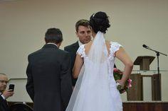 Alex recebendo do querido sogro sua amada.