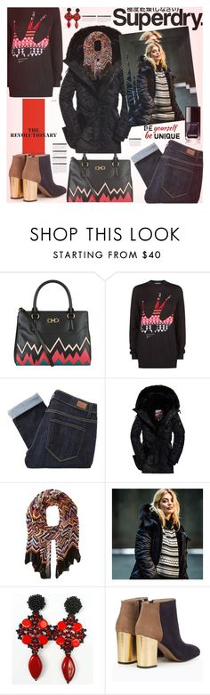 """The Cover Up – Jackets by Superdry: Contest Entry"" by sinesnsingularities ❤ liked on Polyvore featuring Salvatore Ferragamo, McQ by Alexander McQueen, Superdry, Paige Denim, Missoni, Marni, BoConcept, polyvorecommunity and MySuperdry"