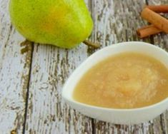 Pear Compote, Diet Recipes, Healthy Recipes, Calories, Mousse, Cantaloupe, Detox, Fruit, Cooking