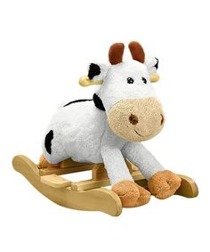 Look what I found on #zulily! Carlton Cow Sounds Rocker by Charm Co. #zulilyfinds