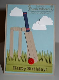 BIRTHDAY: Cricket Birthday Card