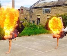 Our Fire Breathers are available for hire. Book our fire performers for corporate events in London & the UK.