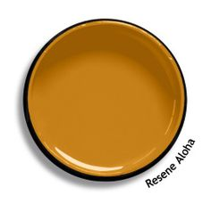 Resene Aloha is a persimmon and gold hue interwoven with abundant rich depths. View this and of other colours in Resene's online colour Swatch library Interior Paint, Interior And Exterior, Interior Colors, Colour Schemes, Color Palettes, Paint Palettes, Colour Chart, Resene Colours, Roof Colors